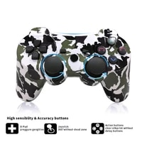 wireless double shock gamepad for playstation 3 remote sixaxis for ps3 controller dualshock pubg for game controller gamepad ps3