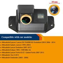 Caméra de recul pour Mitsubishi Lancer Evo Lancer 2008 ~ 2014 Lancer EX 2012 ~ 2015, caméra de recul caméra de Vision nocturne caméra HD