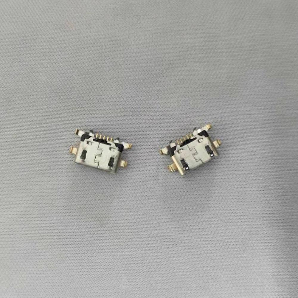 50/100/200PCS Micro mini USB jack socket charging Port Dock replacement Connector For Lenovo Vibe A7020 K52t38 K52e78 K5 Note