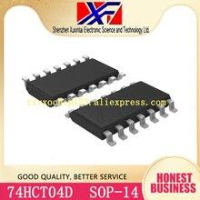 100 шт./лот 74HCT04D SN74HCT04DR SOP-14 IC инвертор 6CH 6-INP 14SOIC