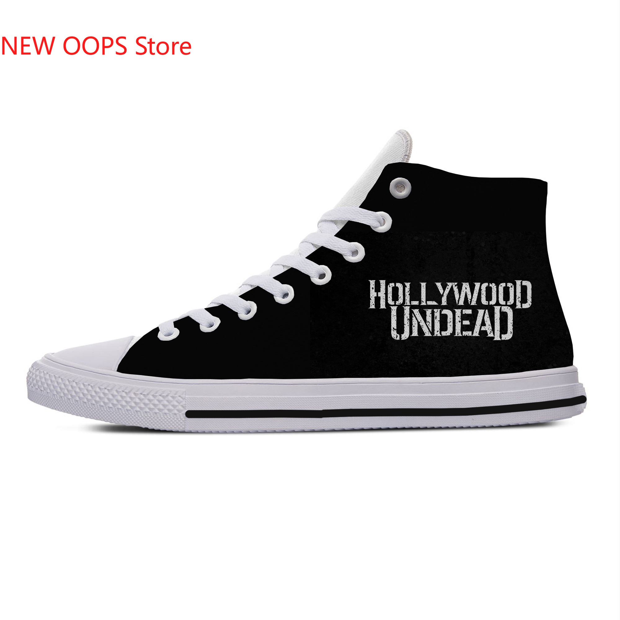 HOLLYWOOD UNDEAD New Arrive Fashion Lightweight High Top Canvas Shoes Men Women Casual Shoes Breathable Sneakers