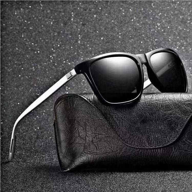 Солнцезащитные очки мужские с поляризационными стеклами UV400, в классическом стиле, гибкие, в стиле ретро, 2021