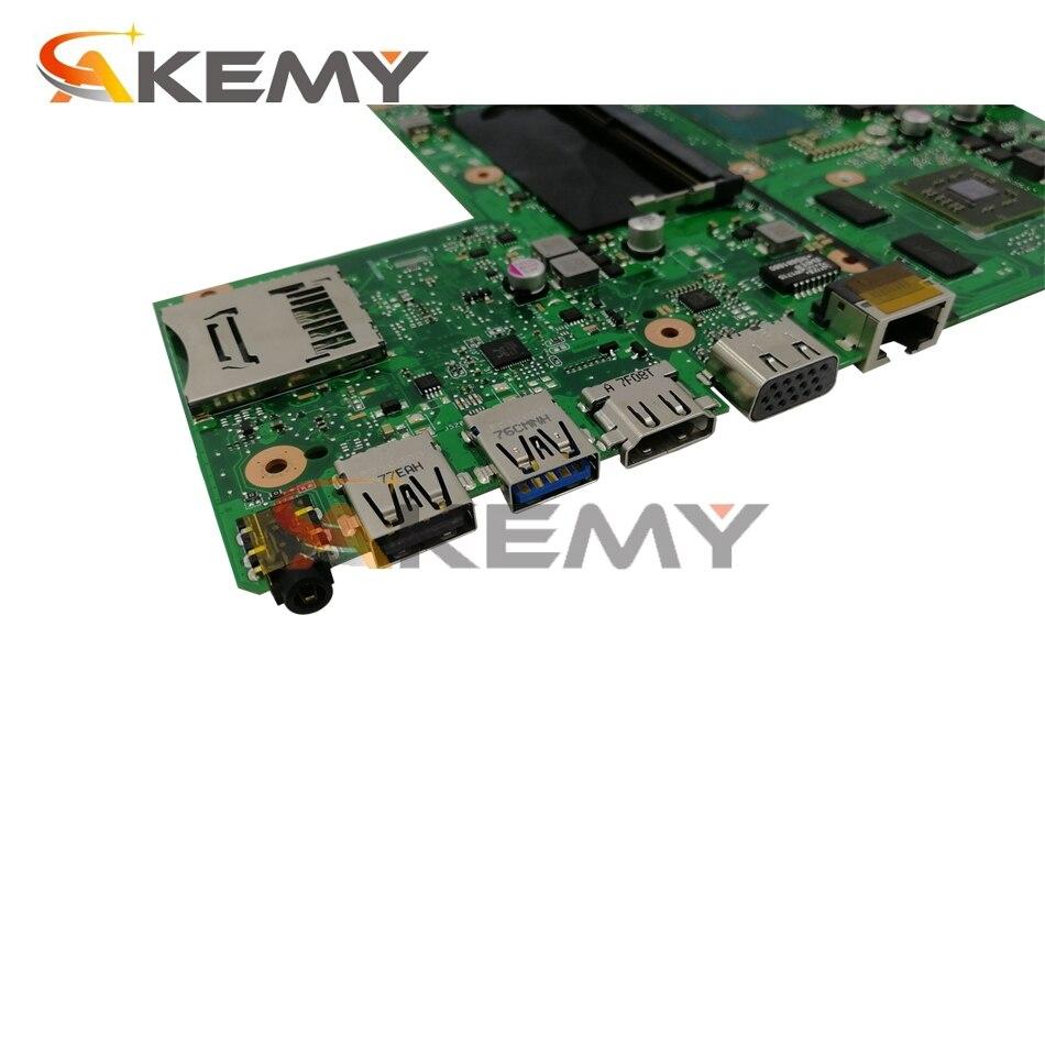 X540UP notebook mainboard with 4405u CPU 4GB RAM PM For Asus X540U X540UP F540U R540U A540U laptop motherboard tested full 100%