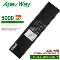 ApexWay 7.4v/5000mAh New Laptop Battery For DELL Latitude 0G95J5 5K1GW E7420 E7440 E7450 3RNFD V8XN3 G95J5 34GKR 0909H5