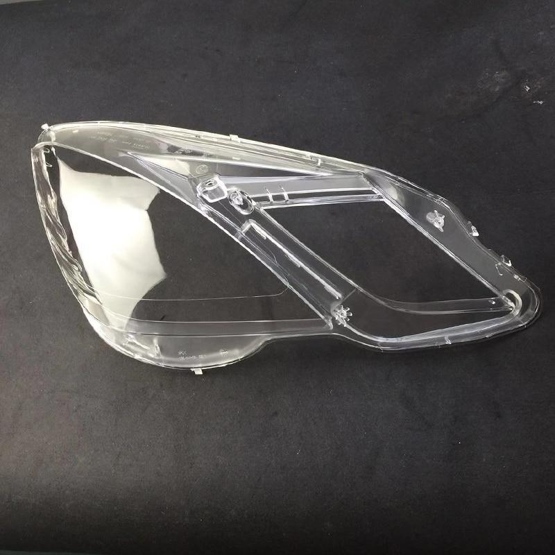 Front headlights headlights glass mask lamp cover transparent shell lamp  masks For Mercedes-Benz w212 2009-2012 e200 E260 E300