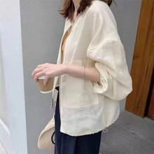 Korean Fashion Women New Jacket Solid Color Zipper Long Sleeve Drawstring Autumn 2021 Simplicity Cas