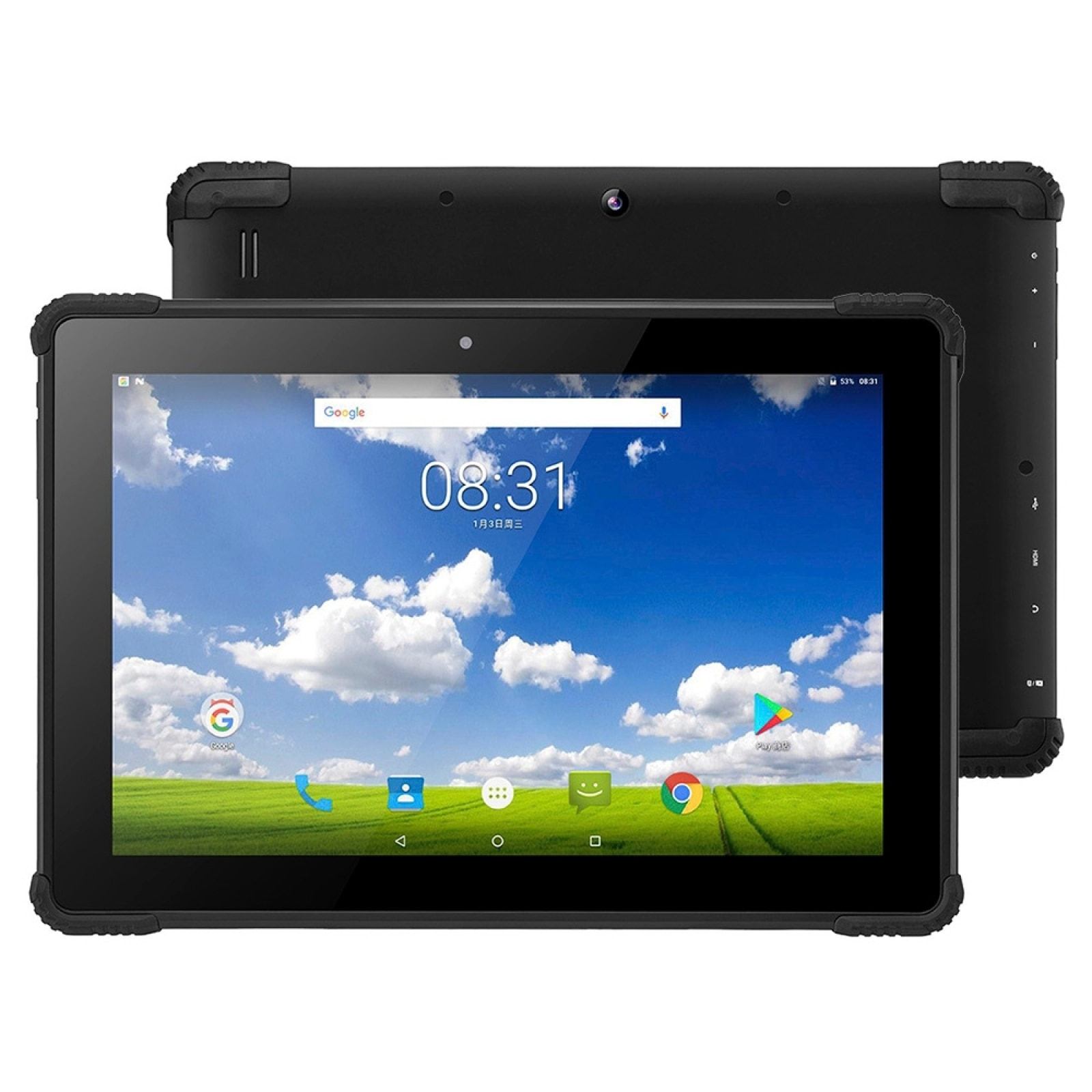 PiPo N1 4G LTE Tablet PC 10.1 inch 2GB 32GB IP54 Waterproof Dustproof Shockproof Android 7.0 MTK8735 Cotex A53 Quad Core GPS