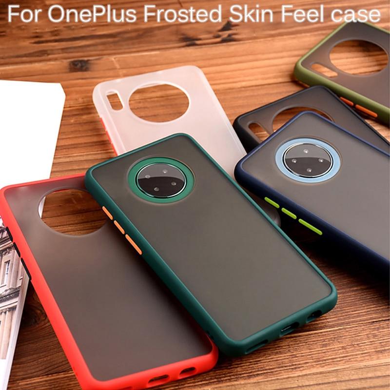 Para Oneplus 8 7 7 t 6t Pro 7Tpro 7pro uno más 7 T delgada de suave silicona TPU transparente cubierta Funda para oneplus 7 8 pro