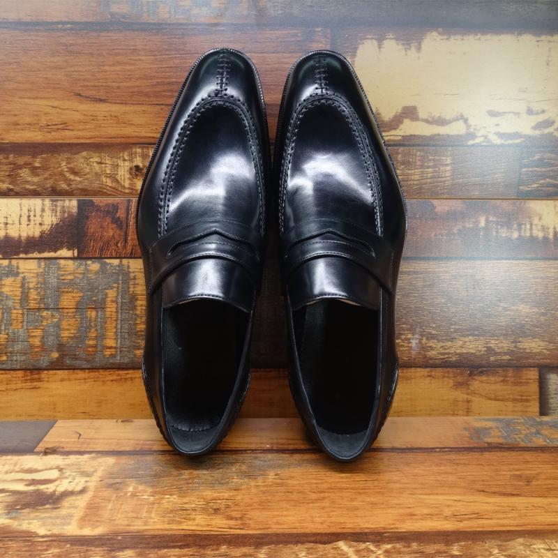 Sipriks رجل جلد طبيعي بيني المتسكعون الايطالية مخصص جوديير Welted أحذية أنيقة بوس بزات رسمية أحذية اليد وضعت جديد