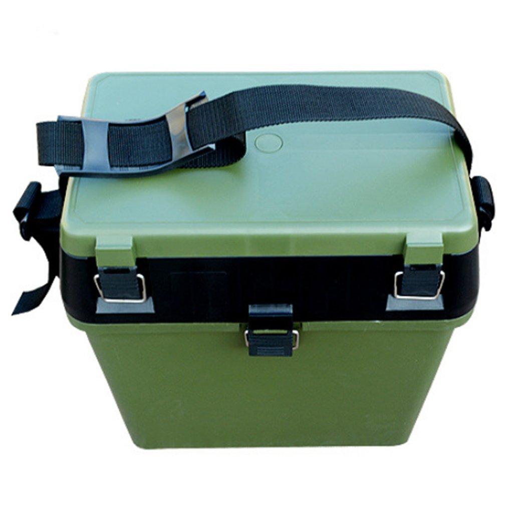 36*37*20cm Big Capacity Fishing Tackle Box High Quality Portable Live Fishing Box Camping Fishing Box Seat Belt Buckle Design