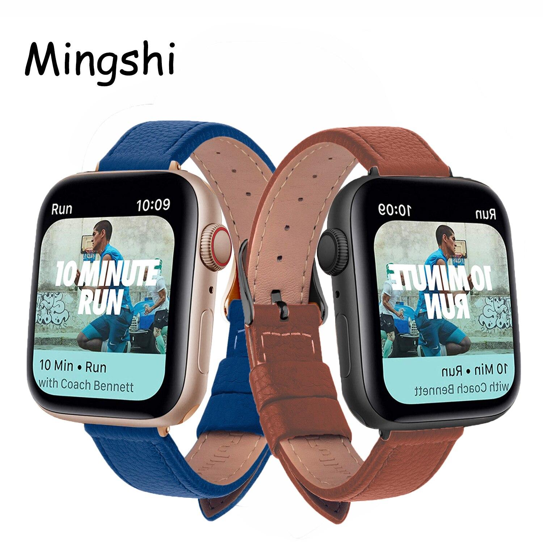 slim-leather-strap-for-apple-watch-band-44mm-40mm-38mm-42mm-soft-wrsit-belt-bracelet-for-iwatch-series-3-se-5-4-6-watchband