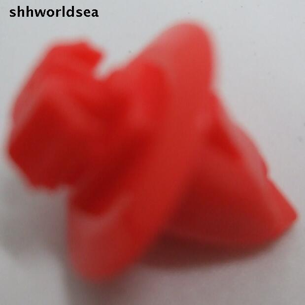 Shhworldsea 500 pçs frete grátis fender & flare roda moldagem prendedor clipes para toyota 90904-67037