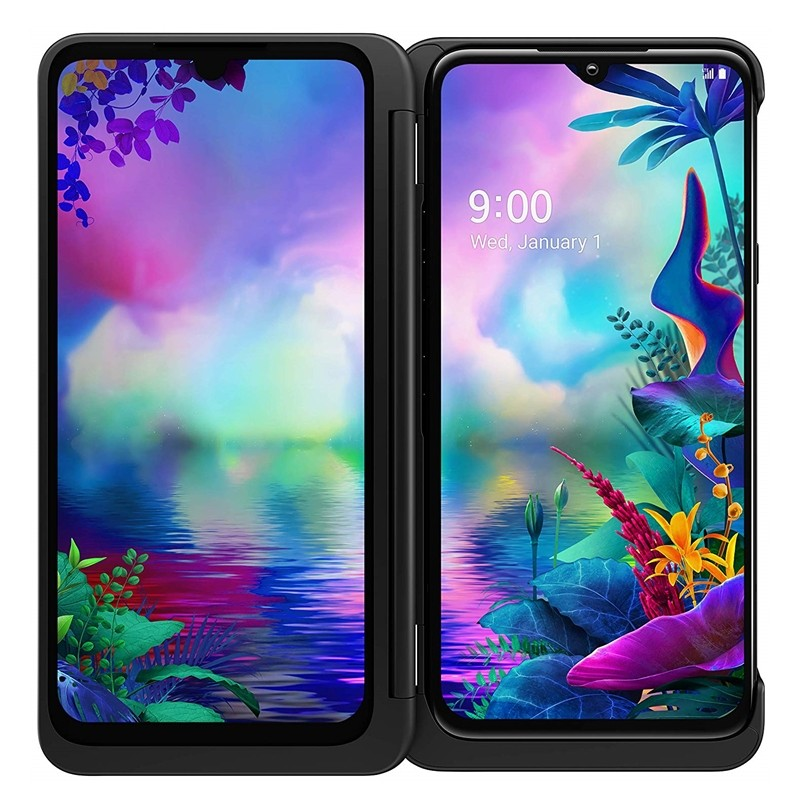 Перейти на Алиэкспресс и купить LG G8X ThinQ оригинальный разблокирована LTE Android телефон Snapdragon 855 Octa Core 6,4 дюйм6 ГБ и 128 ГБ 32MP & 12MP LG V50S ThinQ 5G