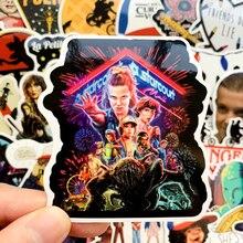 50pcs Stranger Things Stickers Pack Anime Pegatina For Children For Laptop Fridge Phone Skateboard Suitcase Funny Sticker F3