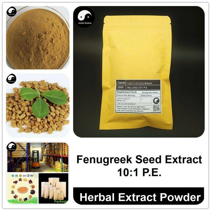 Extracto de semilla de fenogreco en polvo 101, fenogreco P.E., Hu Lu Ba