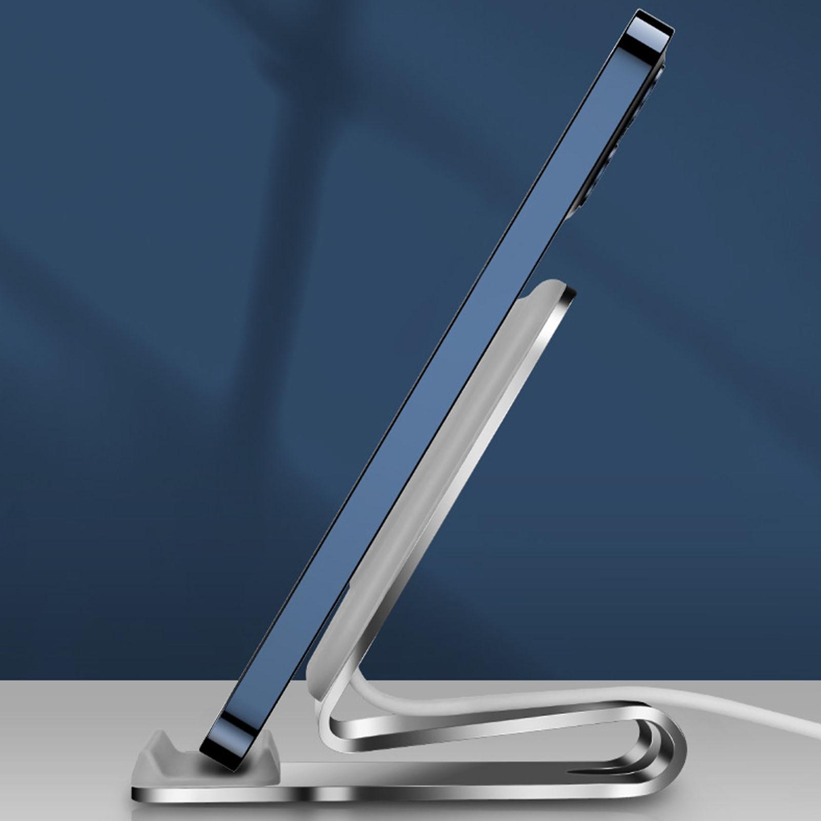 Rondaful Non-slip Wireless Magnetic Phone Charger Stand Holder For IPhone 12 Magsafe Desk Power Base Dock Cradle Bracket enlarge