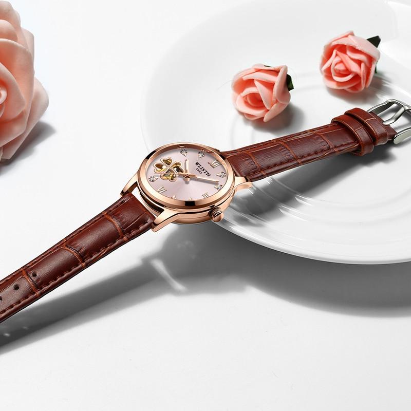 Ladies Watch Hollow Automatic Mechanical Watch Luminous Waterproof Fashion Watch enlarge
