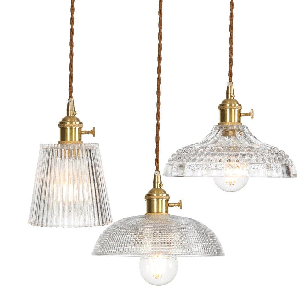 Минималистичный светодиодный подвесной светильник, скандинавский медный стеклянный подвесной светильник E27 AC 110-220 В, подвесной светильник ... eichholtz подвесной светильник emperor