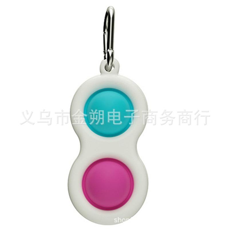 Fidget Sensory Toys Set Rainbow color pops it Push Bubble Fidget Sensory Toys Kids Adults Decompression Gift enlarge
