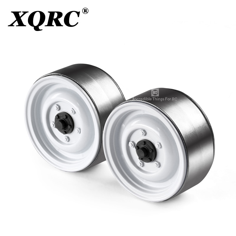 GRC Classic metal 1.9 inch wheel rim chain for 1 / 10 RC tracked vehicle trx4 defender Mustang rc4wd D90 D110 axial scx10 90046 enlarge