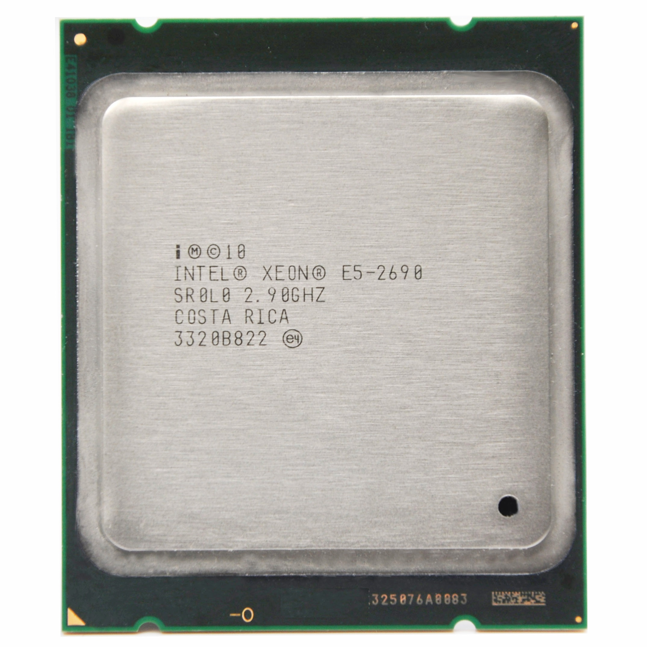 معالج إنتل زيون E5-2690 E5 2690 e52690 ثمانية النواة 2.9G C2 LGA2011 وحدة المعالجة المركزية سطح المكتب المعالج مناسبة X79 اللوحة