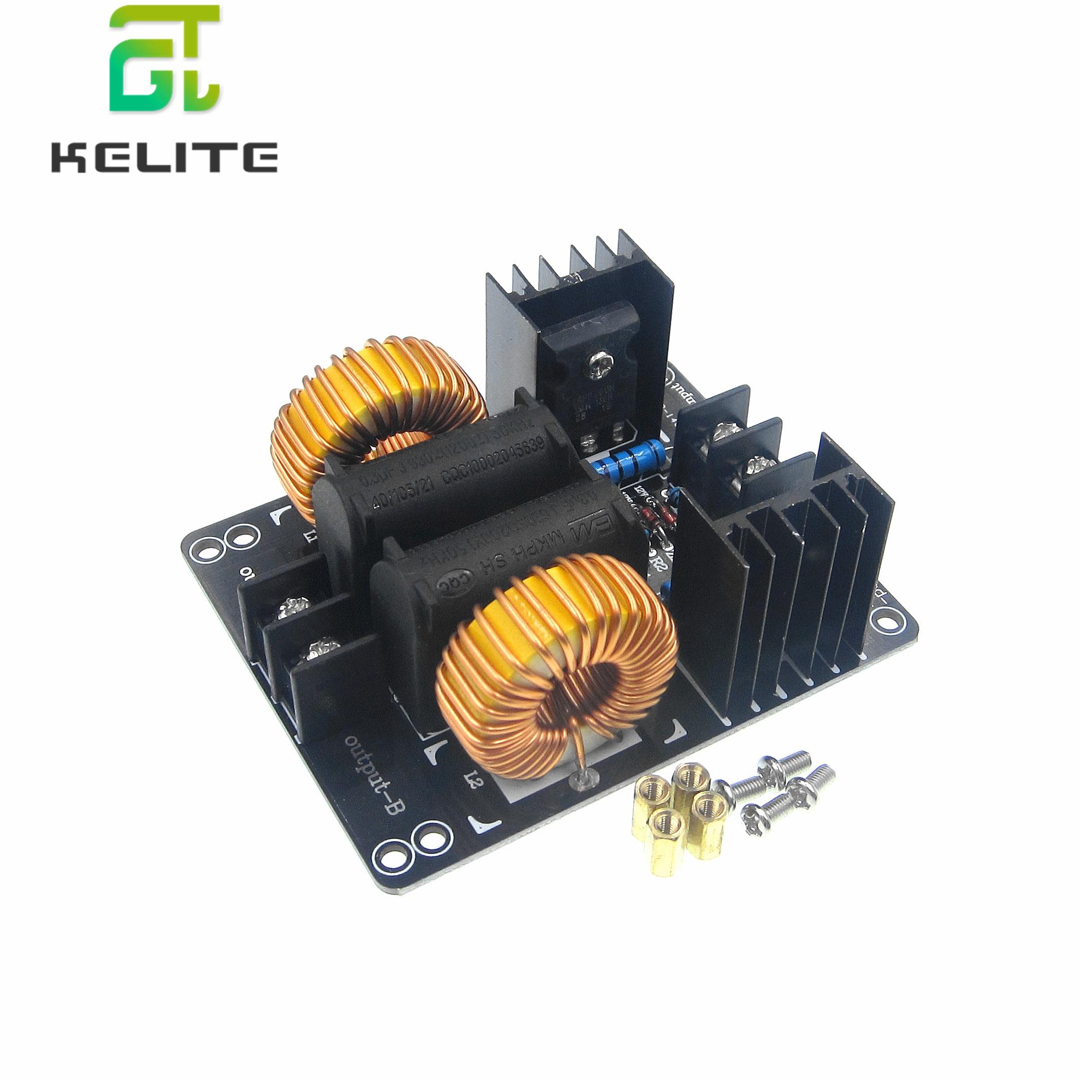 1000W 20A ZVS Placa de bajo voltaje Módulo de calefacción placa de inducción Módulo de calefacción Flyback controlador calentadores máquina herramientas