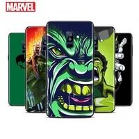 hulks avengers for samsung galaxy a9 a8 star a8s a7 a6 a6s a5 a3 plus 2018 2017 2016 a750 black phone case