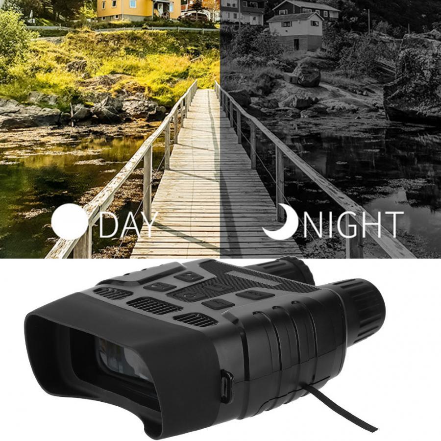 NV-3180 Digital HD de caza Binocular de infrarrojos de visión nocturna de 0,3 Mega píxeles de cámara de infrarrojos para la caza de accesorios