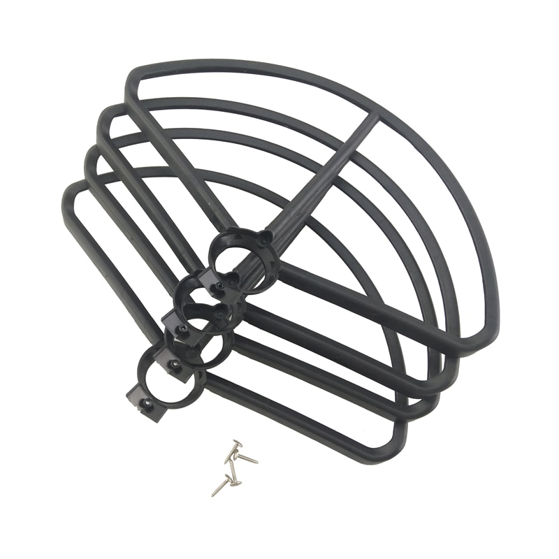 Accessories For 4pcs MJX B5W F20 Bugs 5W Quadcopter Protective Cover Spare Parts - Black