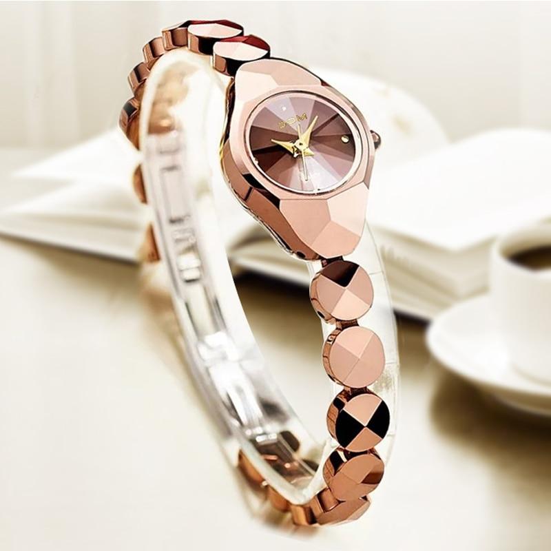 women luxury brand waterproof style quartz watch Tungsten steel gold nurse watch bracelet women enlarge