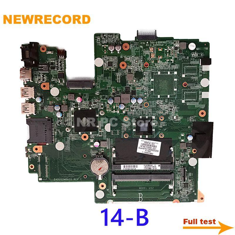 نيوسجل DA0U52MB6E0 703855-501 701390-501 ل HP بافيليون Sleekbook 14 14-B 14-b065br اللوحة الأم للكمبيوتر المحمول E1-1500 وحدة المعالجة المركزية