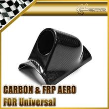 Housse en Fiber de carbone R32 R33 R34 EG FD FN FK   À une jauge universel, finition brillante de 52mm, en Fiber de tableau de bord