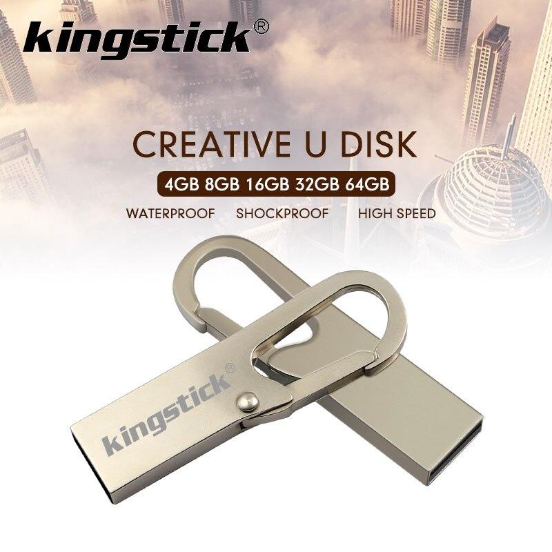 High Speed USB 2,0 Mini-Stick 16GB 32GB 64GB 128GB Usb-Stick Wasserdicht Metall usb flash stick Pen schlüssel kette memory Sticks