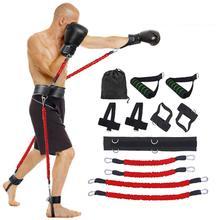2020 nouveau sport Fitness rebond formateur jambe résistance bande ensemble boxe exercice ceinture pour musculation entraînement rebondir bandes