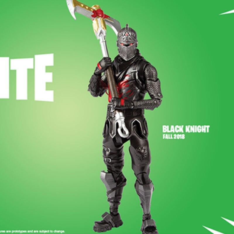 Juego TPS, personaje de fortaleza, Caballero Negro, abrazo, líder del equipo, Calavera, tropa, raptor McFarland, modelo de figuras de acción coleccionables