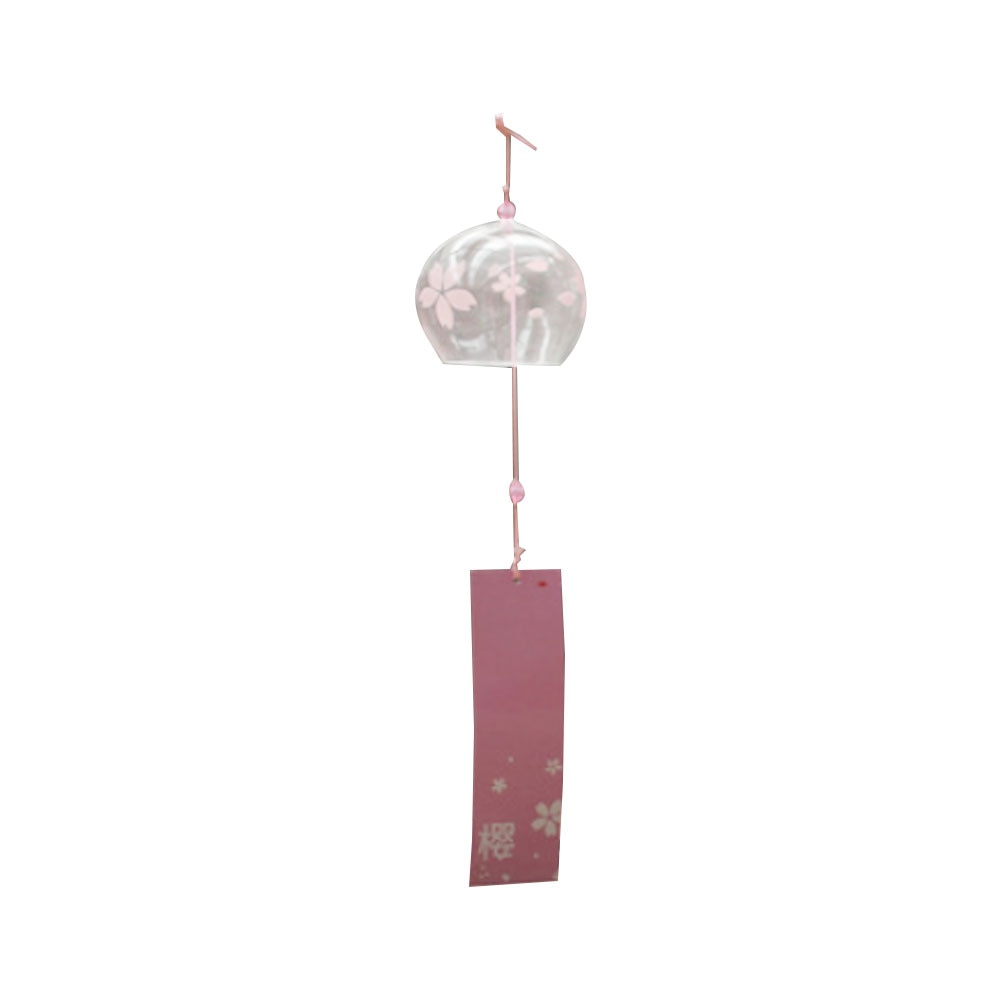 Wind Chimes Creative Japanese Handmade Glass Painting And Door Decoration Gift For Girls Home Outdoor Garden Hanging Bell