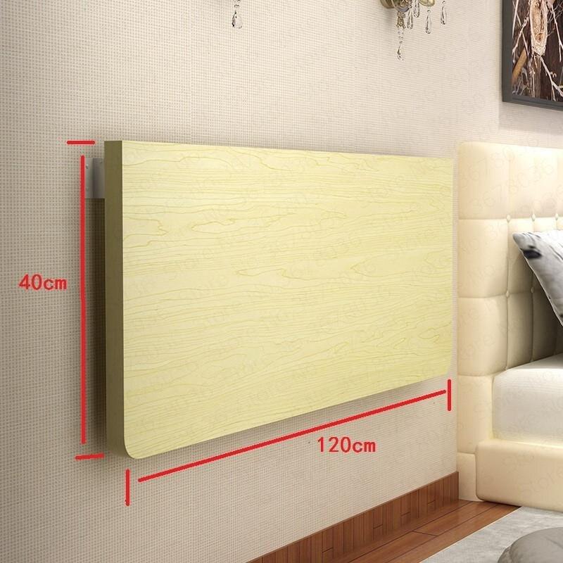 ¡Liquidación! Mesa de pared sencilla para el hogar que se dobla, mesa de pared para comedor, mesa de pared colgante para ordenador, escritorio, mesa de pared