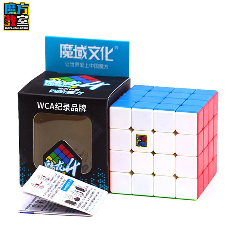 Moyu Meilong 4x4x4 магический скоростной куб без наклеек кубики классная головоломка кубики Mofangjiaoshi 4x4 кубики обучающая антистрессовая игрушка