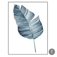 Toile de decoration de noel  affiches  feuilles de plantes  tableau dart mural pour salon  decoration de maison