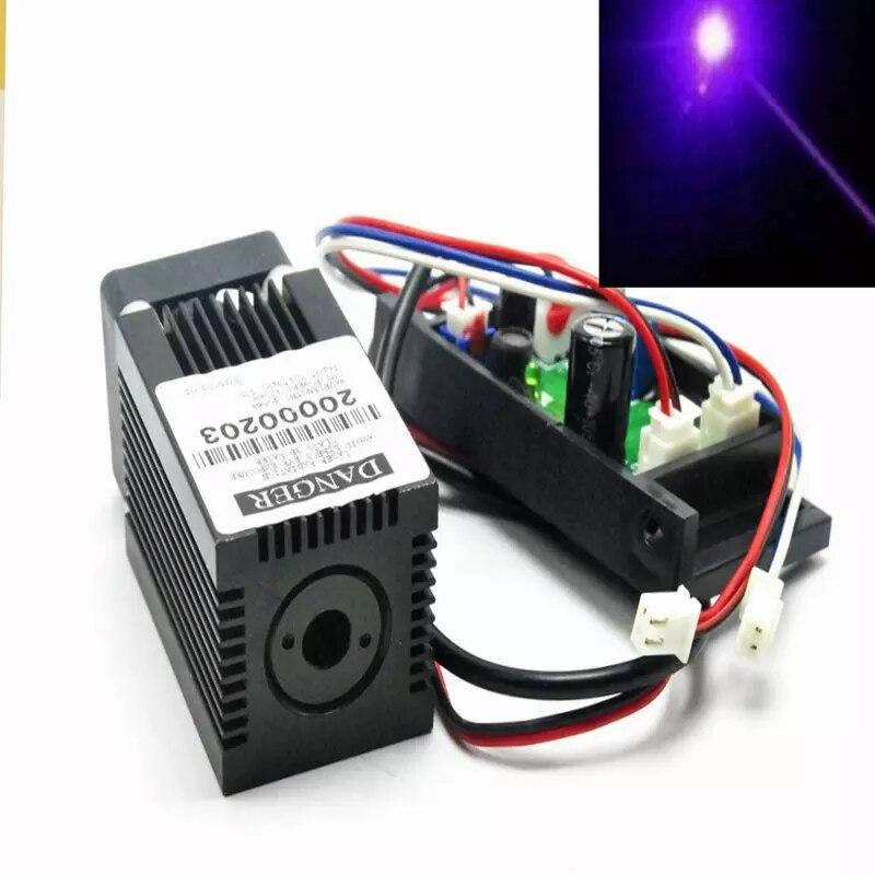 405 нм 50 мВт фиолетовый синий фокус точка лазер модуль сцена освещение w% 2F питание адаптер 12 В