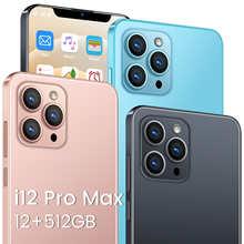 Смартфон i12 Pro Max, глобальная версия, Android 6,7, 512 дюйма, 12 Гб, 5800 ГБ