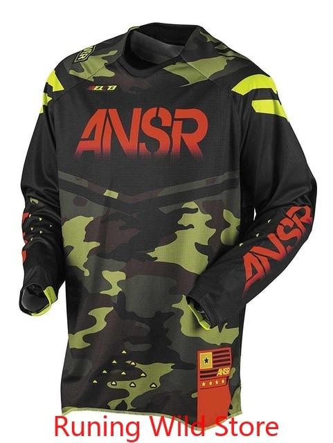 Camiseta de competición de Motocross para hombre, Ropa de Ciclismo profesional de...