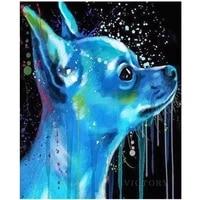 diamond painting chihuahua dog pet 5d diy full diamond mosaic picture animal cross stitch kit rhinestone embroidery home decor