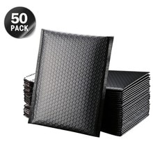 5/25/Pcs Black Poly Bubble Mailer Bubble Mailers Padded Envelopes for Gift Packaging Lined Poly Mail