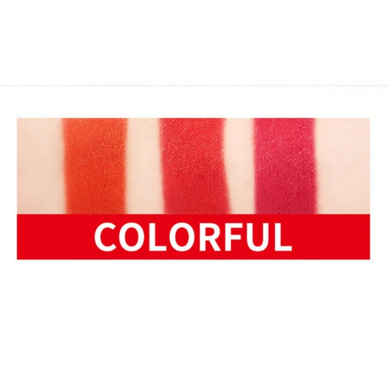 Soy Lecithin Matt Lipstick Lips Balm Temperature Change Red Lipstick Color Moisturizing Black Lipstick Beauty