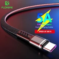 floveme usb type c fast cable for samsung xiaomi phone charge wire type c cable charging cable for iphone 11 12 pro max x xs xr