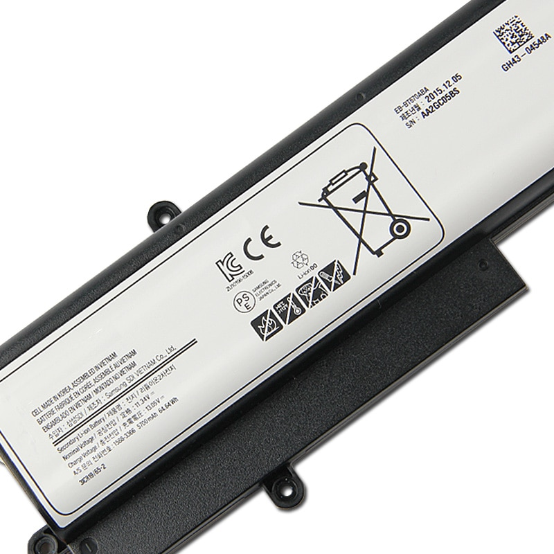 New Replacement Tablet Battery EB-BT670ABA EB-BT670ABE For Samsung Galaxy View Tahoe AA2GB07BS SM-T670N SM-T677A Battery 5700mAh enlarge