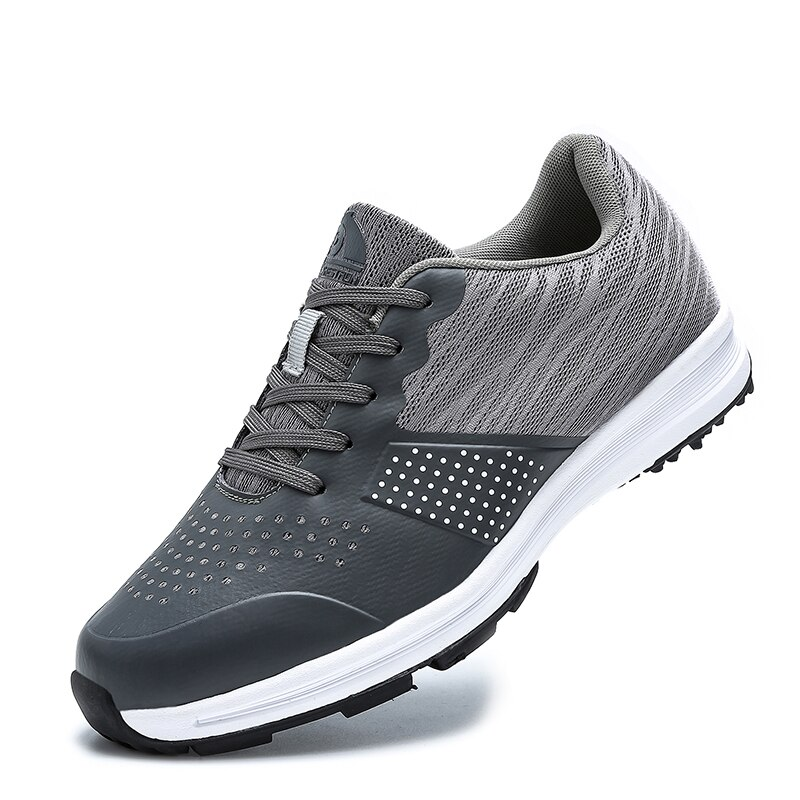 Waterproof Golf Shoes for Men Professional Outdoor Golf Sport Training Sneakers Big Size 39-48 Mens Spikeless Golf Trainers 2020 men waterproof golf shoes black white sport trainers for golf spikeless sneakers anti slip walking shoes for mens