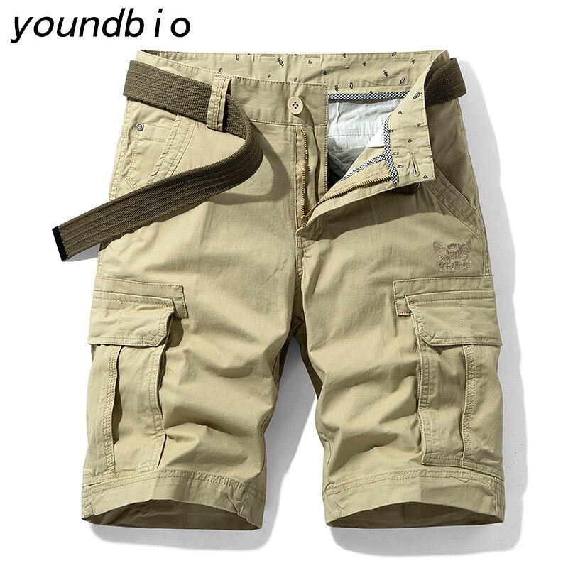 Cargo Shorts Men's Sport Casual Loose Sweatpants Beach Shorts Maleoutdoor Military Pocket Cargo Pants Shorts 2031