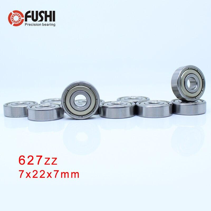627ZZ ABEC-5 (100 PIÈCES) 7x22x7mm Roulement À Billes Miniature 627ZZ EMQ Z3V3